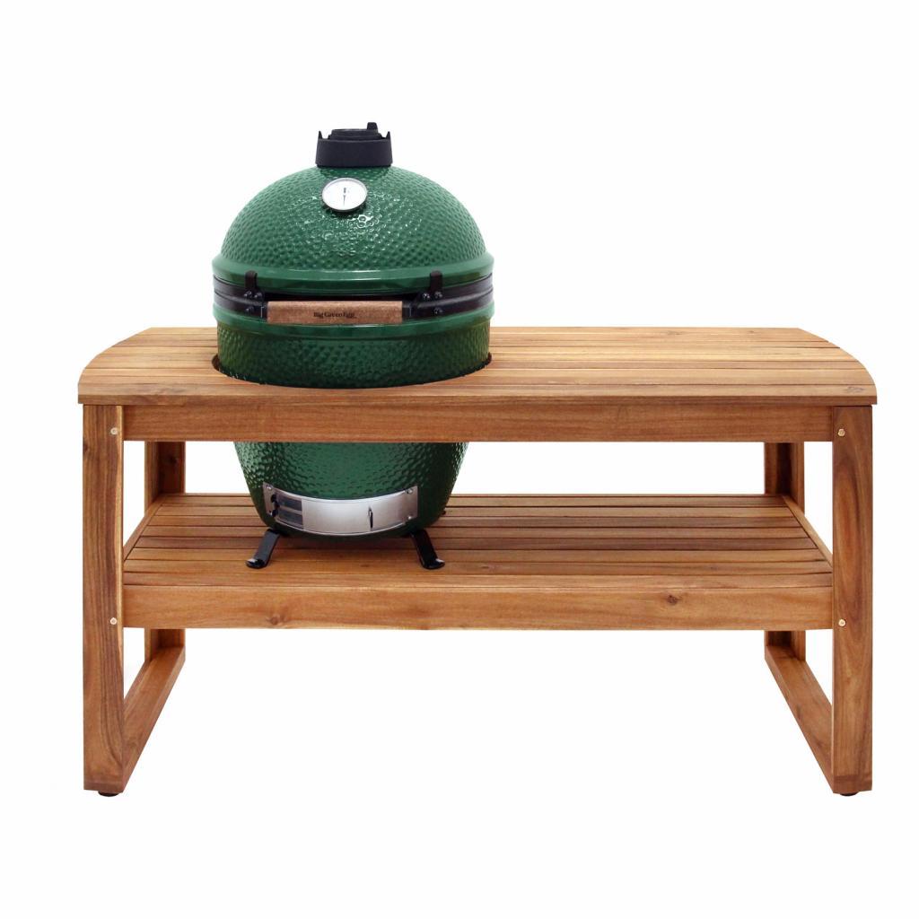 Produktové foto Dřevěný stůl pro gril L Big Green Egg