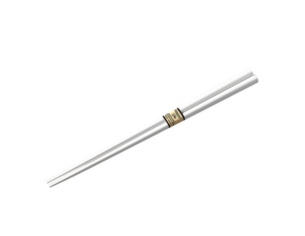 Produktové foto Lakované jídelní hůlky Chopsticks bílé MIJ