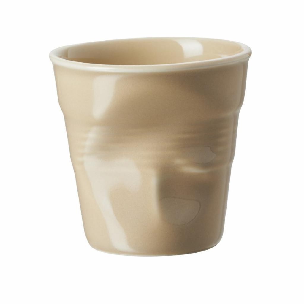 Produktové foto Kelímek na espresso 8 cl písková Froissés REVOL