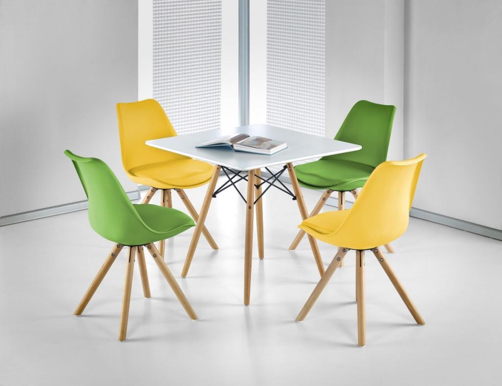 Produktové foto Halmar Jídelní stůl Themis bílý
