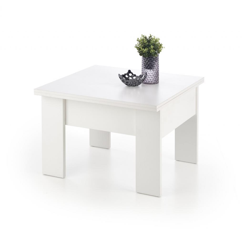 Produktové foto Halmar Konferenční rozkládací stolek Serafo bílý