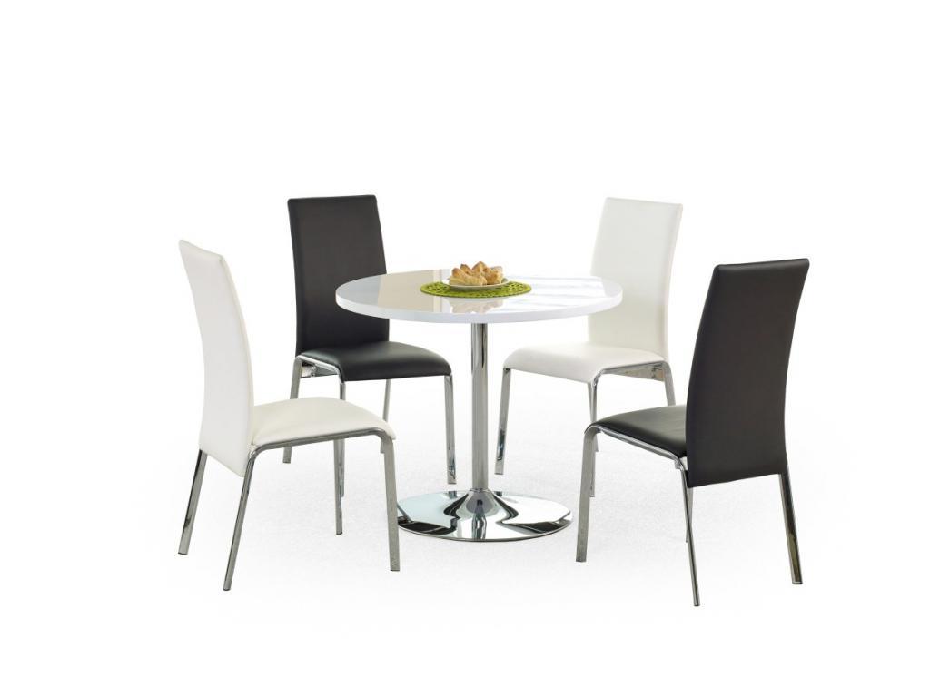 Produktové foto Halmar Kulatý jídelní stůl Osmar bílý