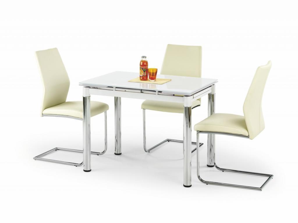 Produktové foto Halmar Rozkládací jídelní stůl Logan bílý