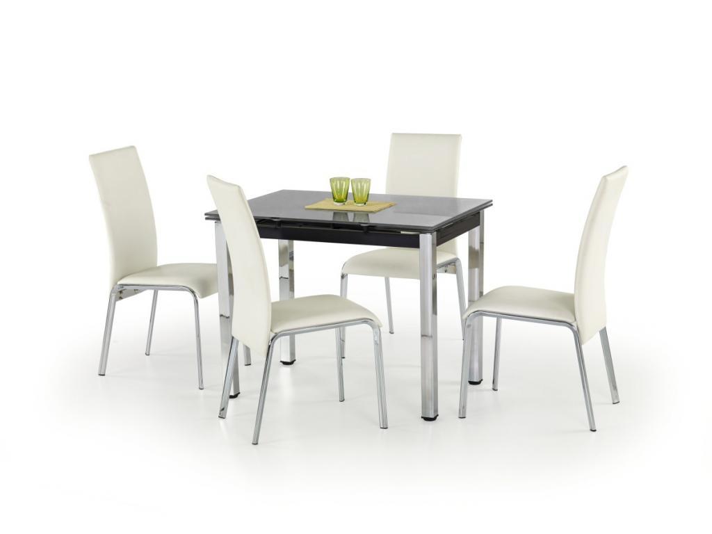 Produktové foto Halmar Rozkládací jídelní stůl Logan černý