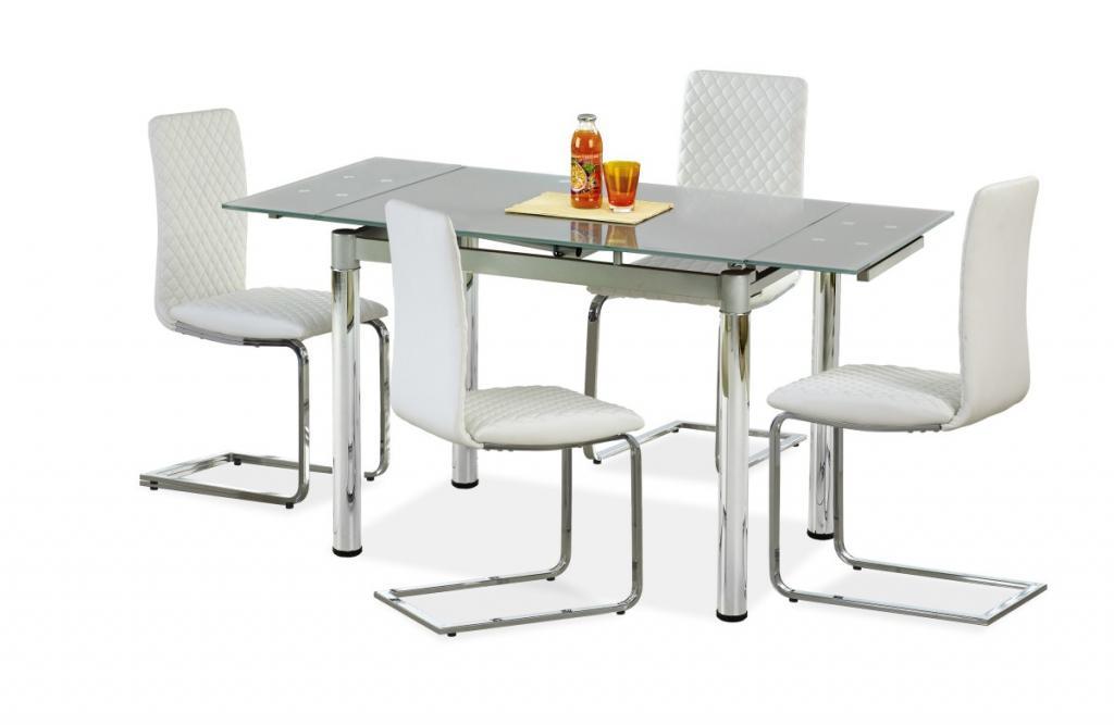 Produktové foto Halmar Rozkládací jídelní stůl Logan šedý