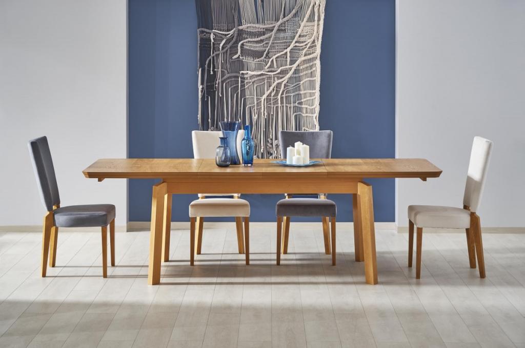 Produktové foto Halmar Rozkládací jídelní stůl Roiz dub medový