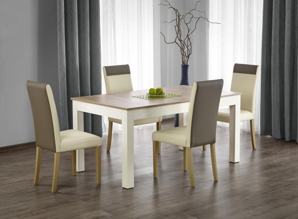 Produktové foto Halmar Rozkládací jídelní stůl Severo dub sonoma/bílá