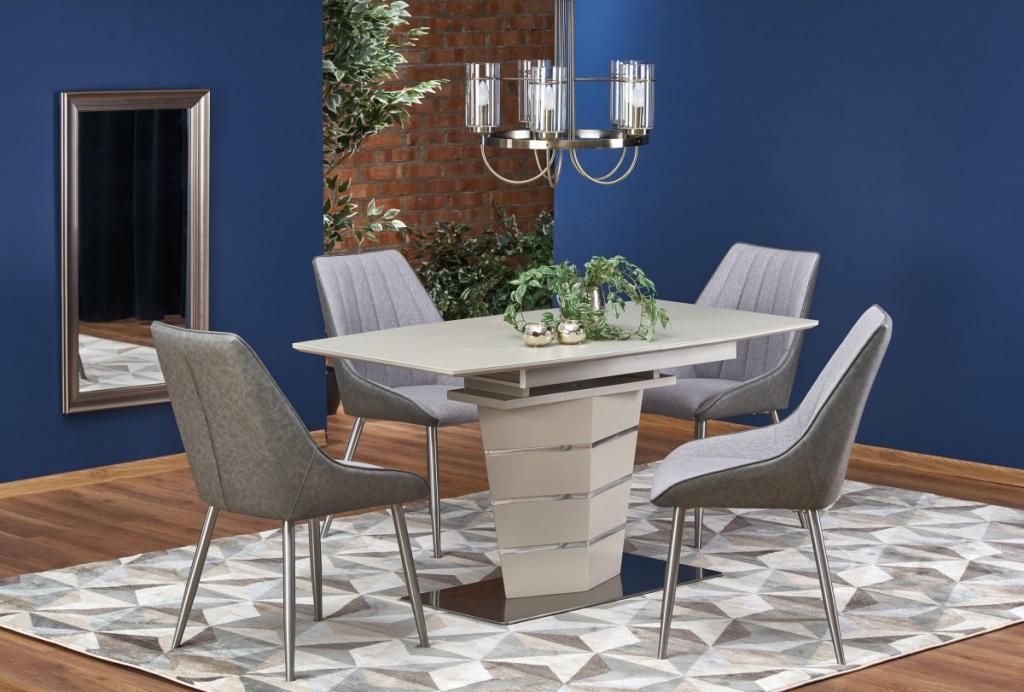 Produktové foto Halmar Rozkládací jídelní stůl Soroto béžový mat