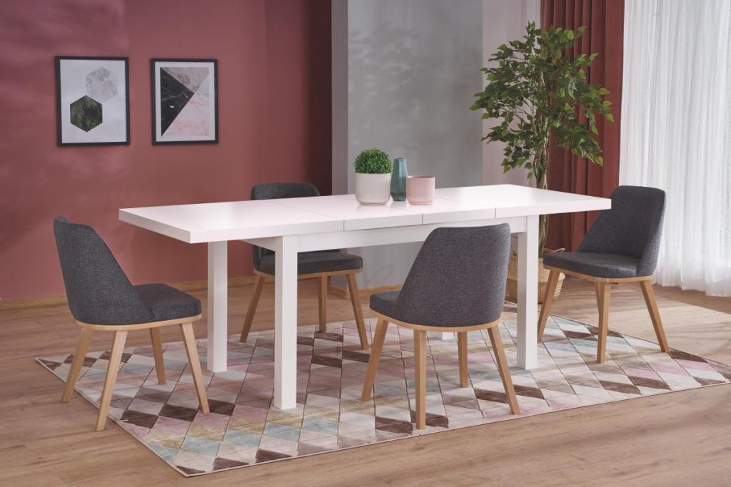 Produktové foto Halmar Rozkládací jídelní stůl Tiaro bílý