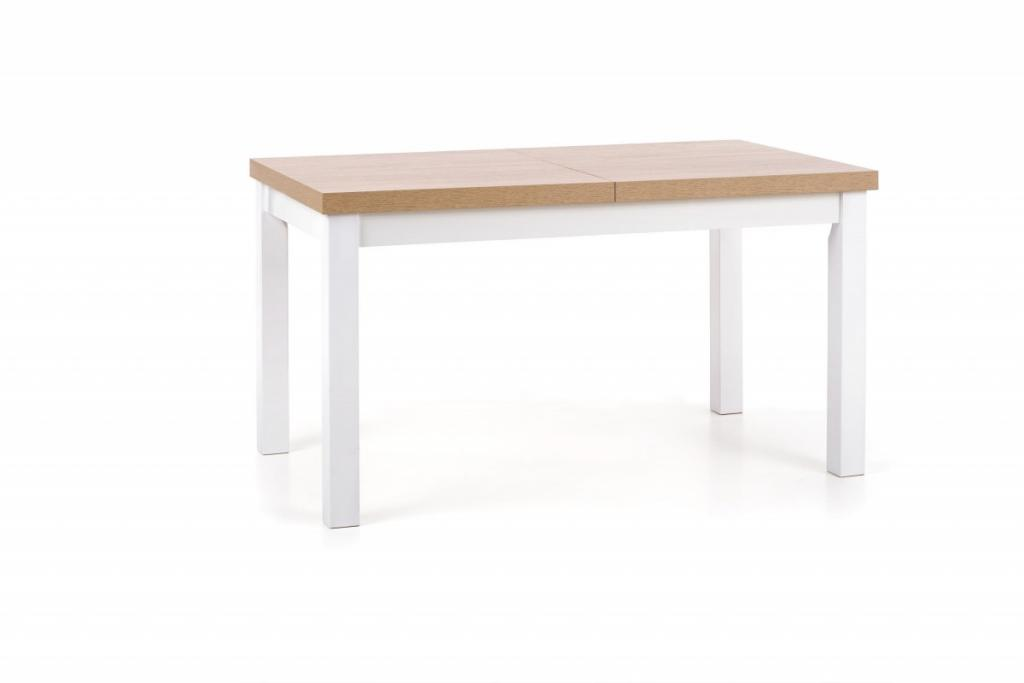Produktové foto Halmar Rozkládací jídelní stůl Tiaro dub sonoma/bílá