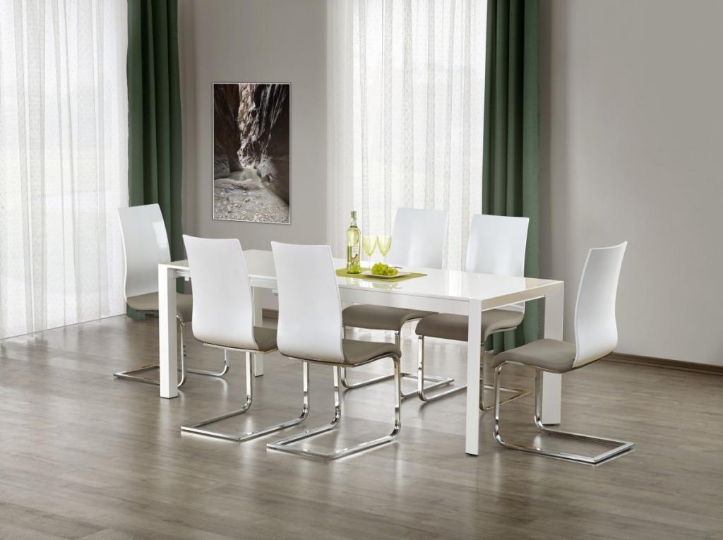Produktové foto Halmar Rozkládací jídelní stůl Yale 2 bílý