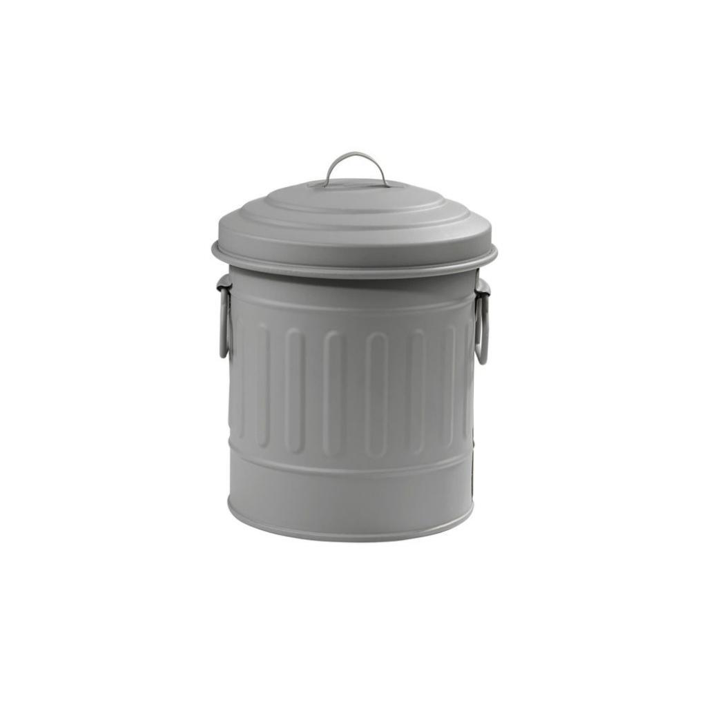 Produktové foto LITTLE OSCAR Odpadkový koš 1 l - sv. šedá