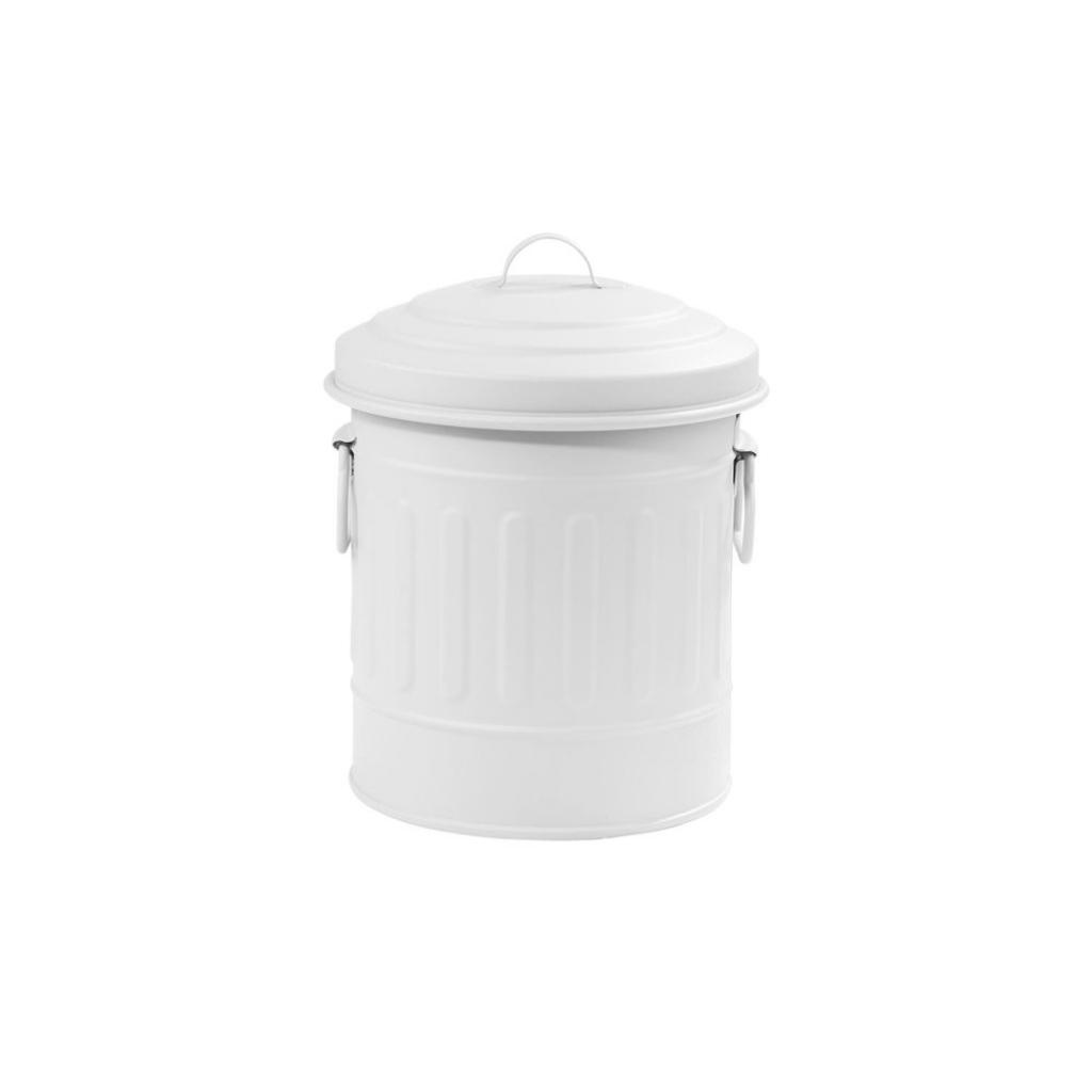 Produktové foto LITTLE OSCAR Odpadkový koš 1 l - bílá