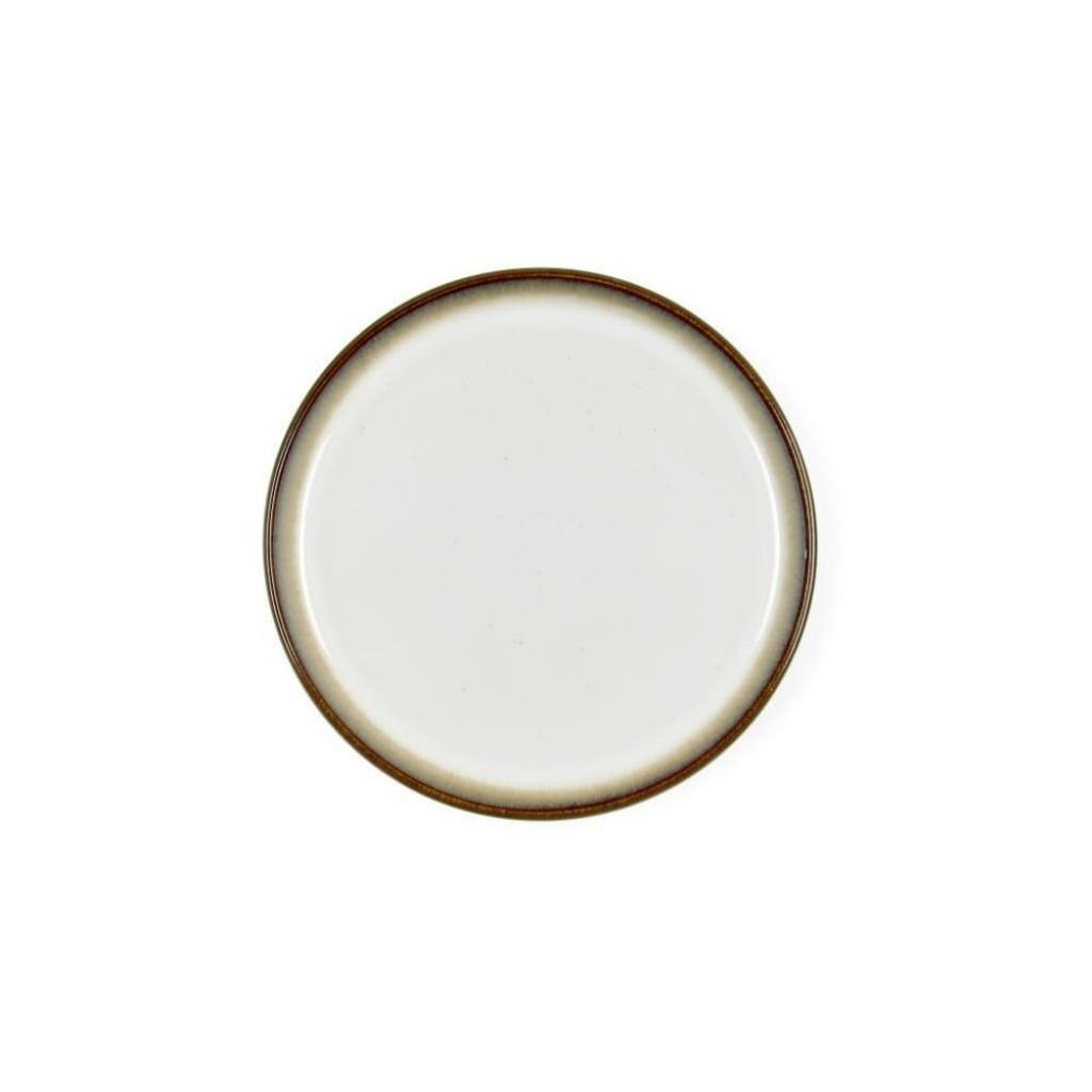 Produktové foto Krémově bílý kameninový dezertní talíř Bitz Mensa, průměr 21 cm