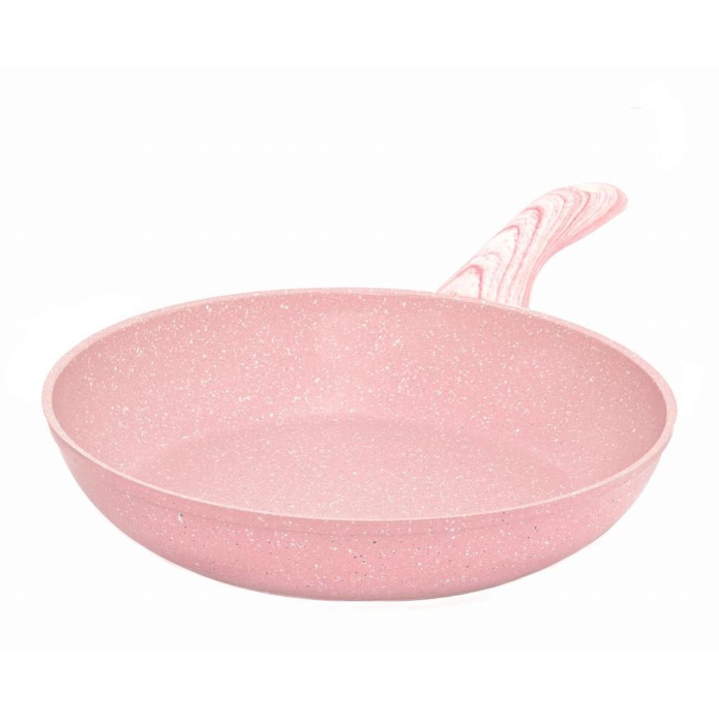 Produktové foto Růžová pánev Bisetti Stonerose,ø24cm