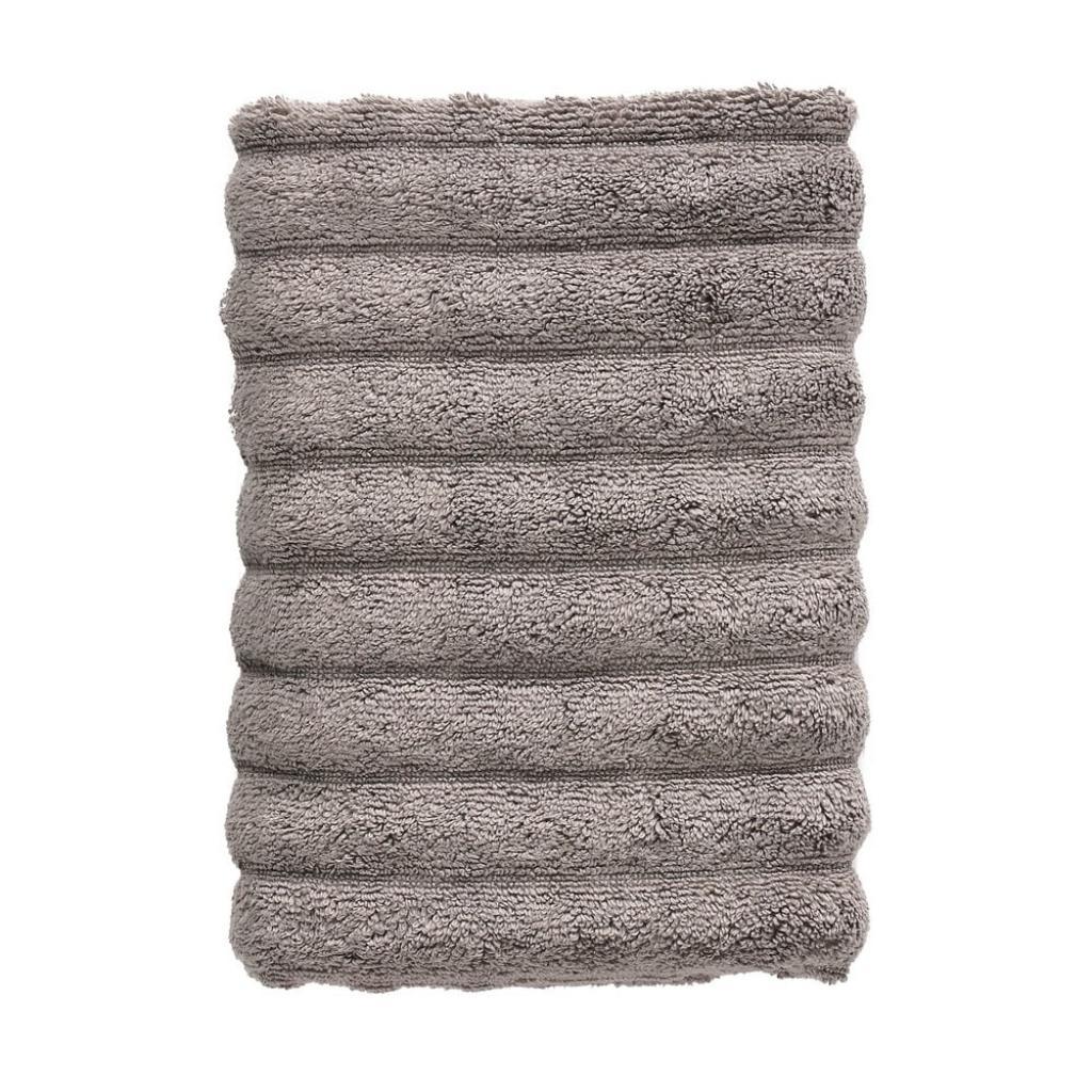 Produktové foto Tmavě šedý bavlněný ručník Zone Inu,100x50 cm