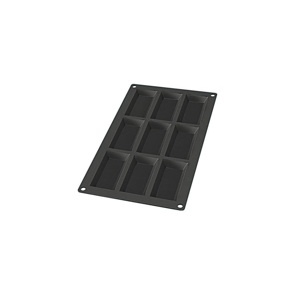Produktové foto Černá silikonová forma na 9 mini dezertů Lékué