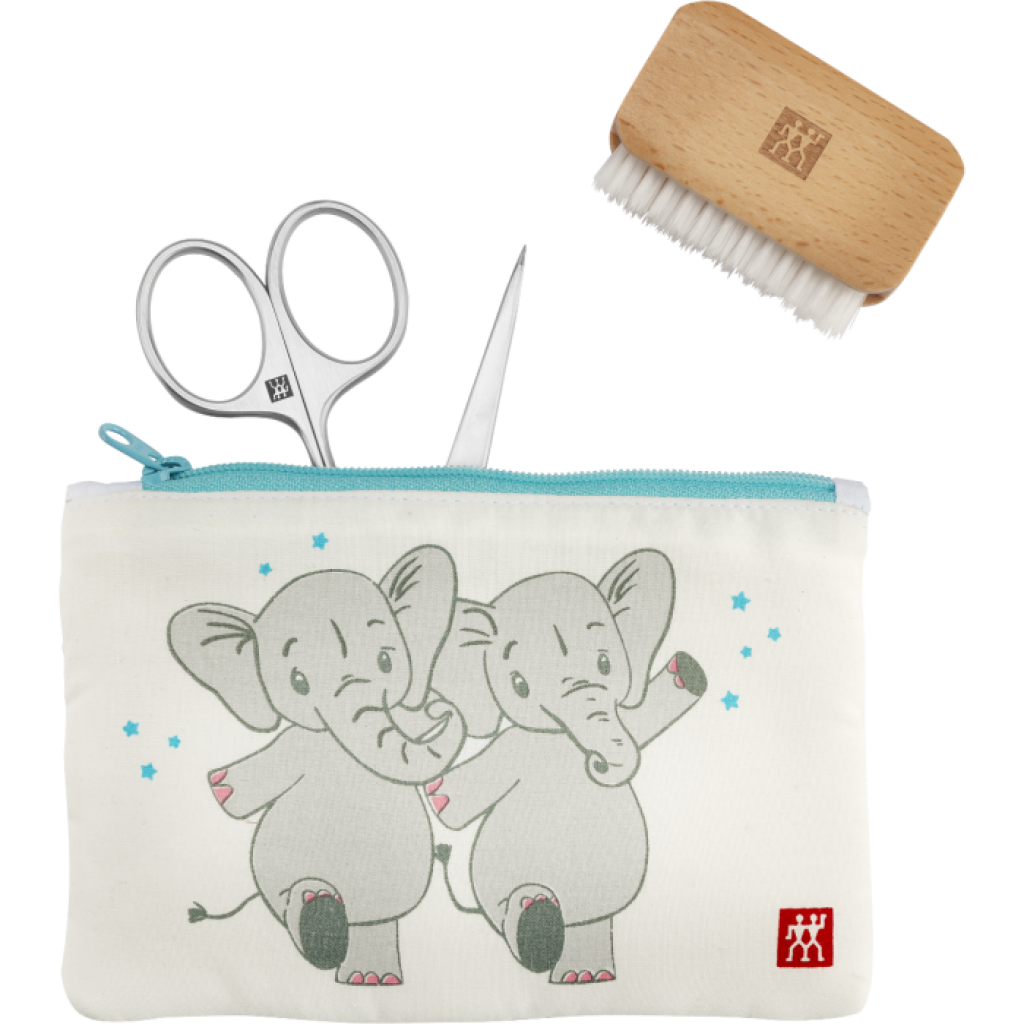 Produktové foto Zwilling dětská manikúrní sada Slon, Twinox, 3 ks
