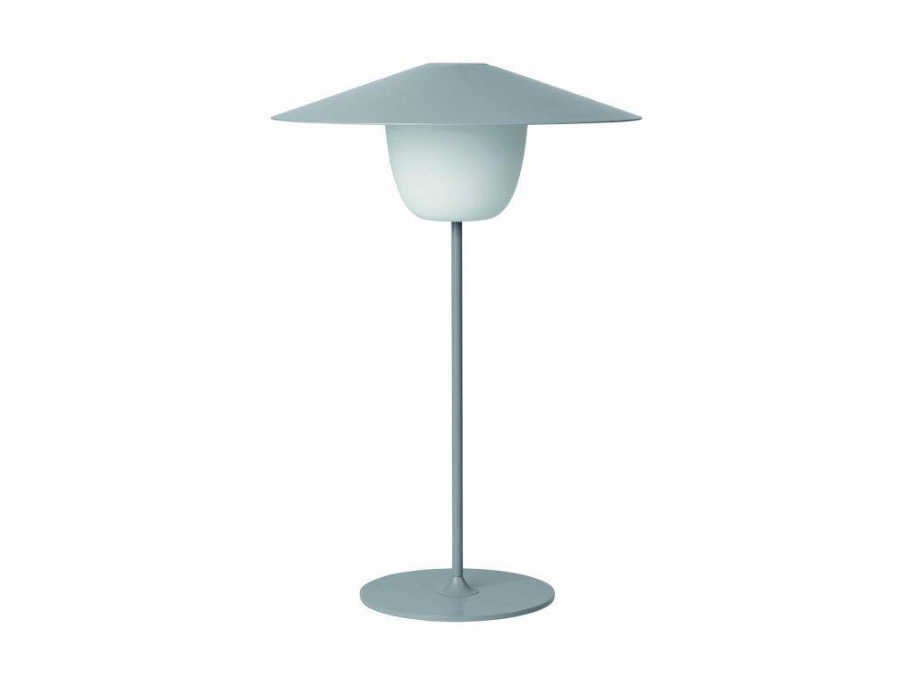 Produktové foto Přenosná stojací LED lampa Blomus střední šedá