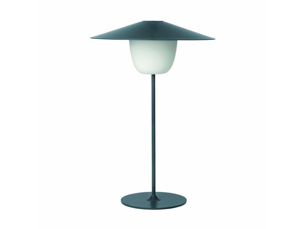 Produktové foto Přenosná stojací LED lampa Blomus střední černá