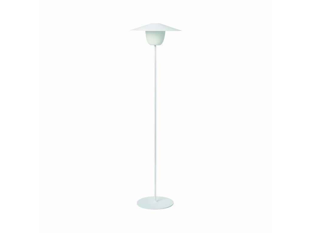 Produktové foto Přenosná stojací LED lampa Blomus vysoká bílá