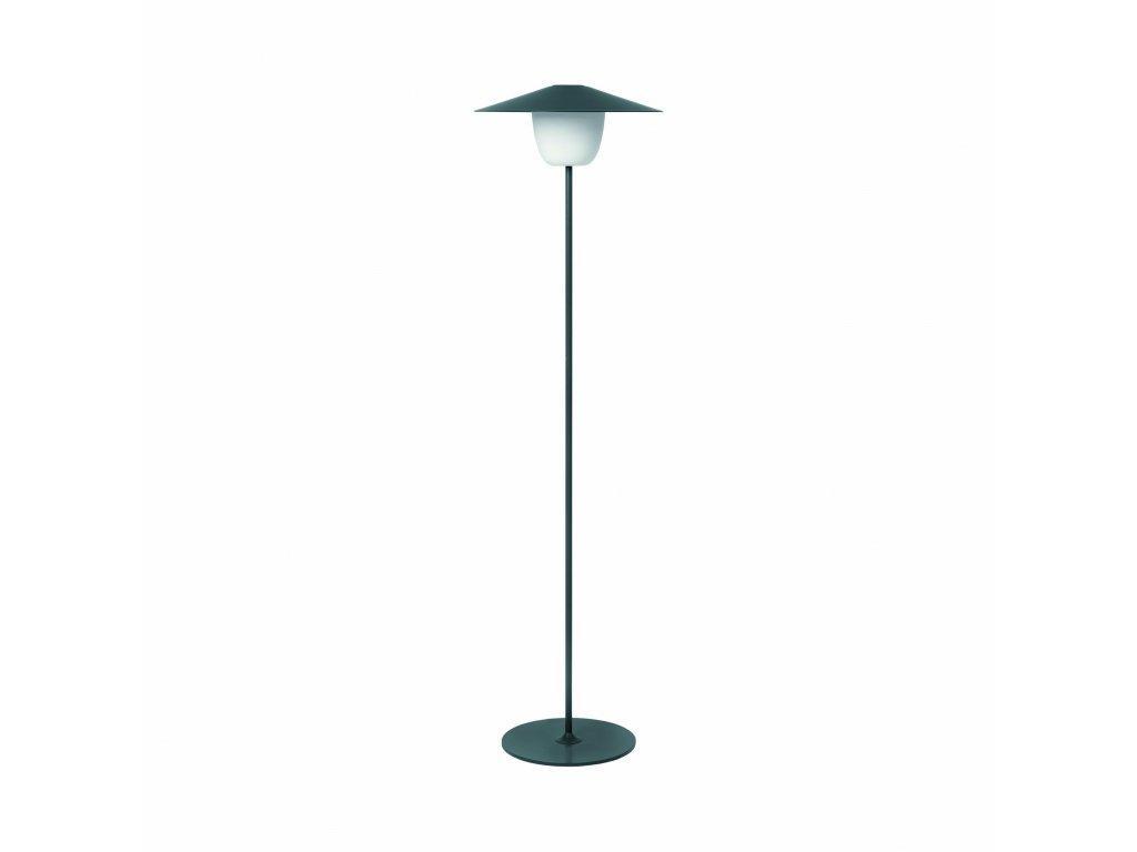 Produktové foto Přenosná stojací LED lampa Blomus tmavě šedá