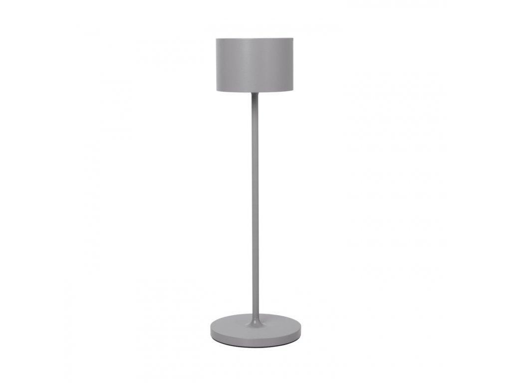 Produktové foto Přenosná stojací LED lampa Farol Blomus šedá