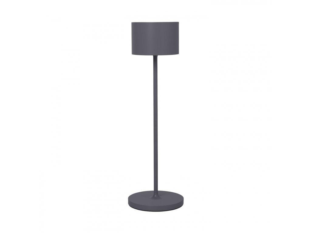 Produktové foto Přenosná stojací LED lampa Farol Blomus hřejivě šedá
