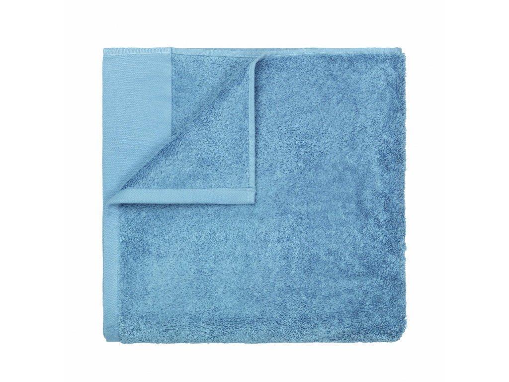 Produktové foto Osuška do sauny Riva Blomus pastelově modrá 100x200 cm