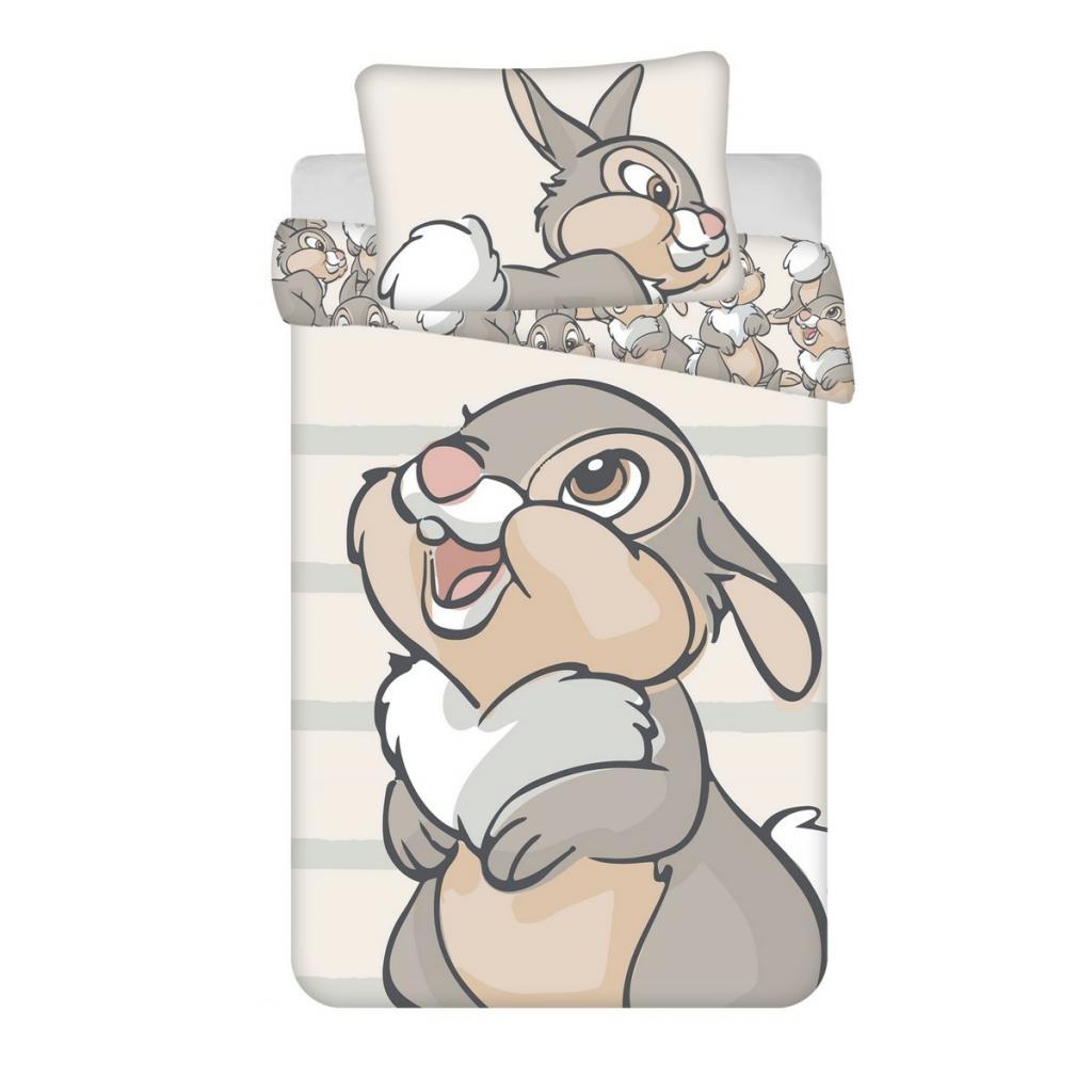 Produktové foto Jerry Fabrics Dětské bavlněné povlečení do postýlky Thumper baby, 100 x 135 cm, 40 x 60 cm