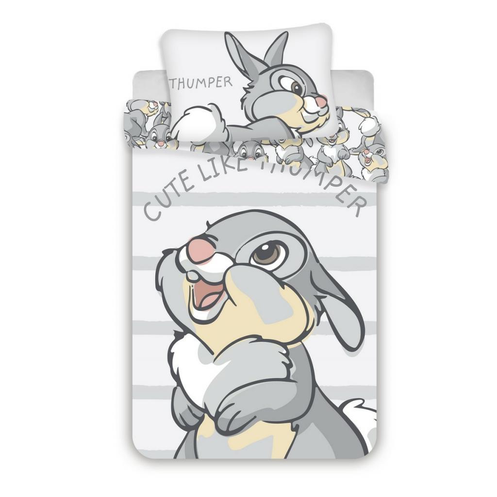 Produktové foto Jerry Fabrics Dětské bavlněné povlečení do postýlky Thumper 02 baby, 100 x 135 cm, 40 x 60 cm