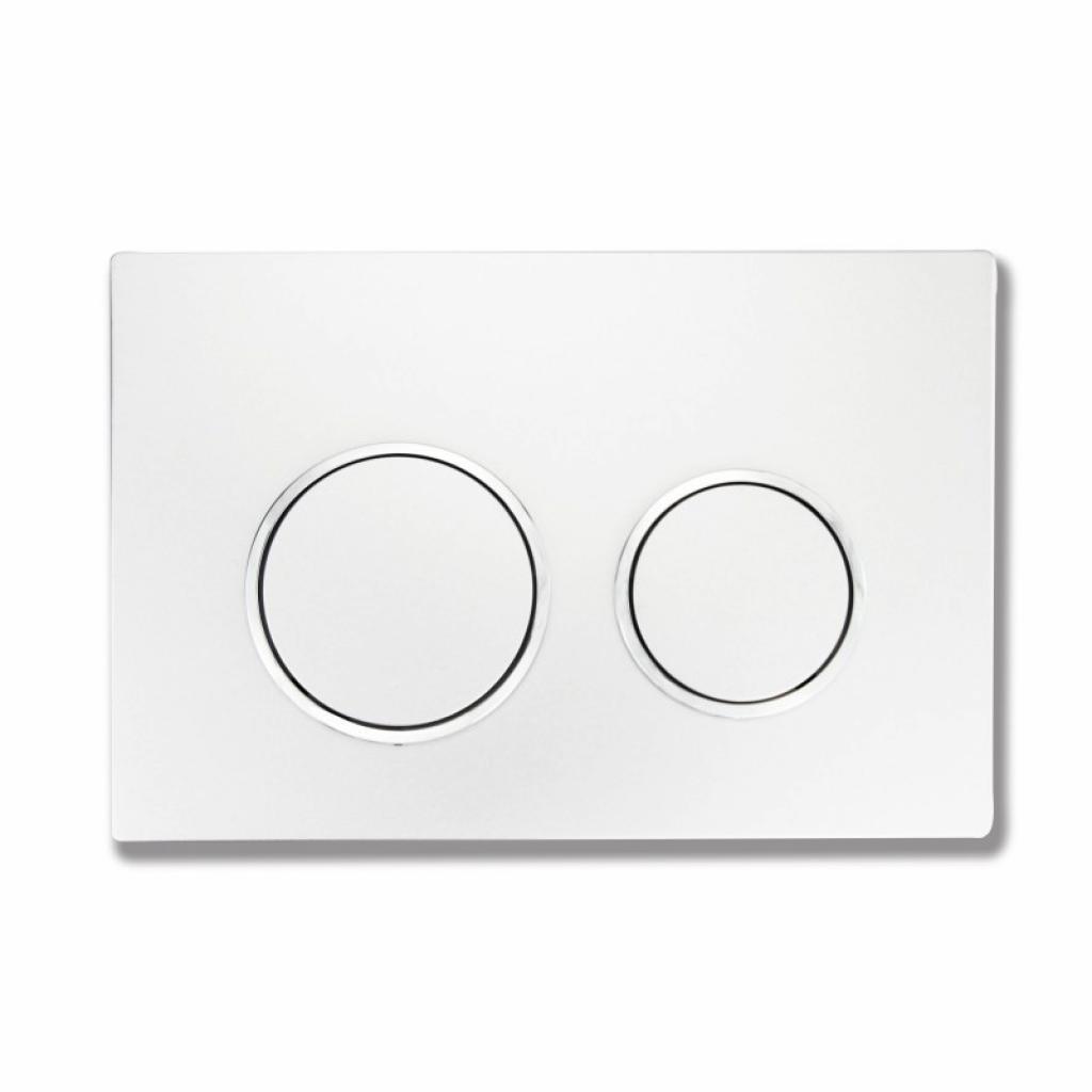 Produktové foto WC tlačítko k nádržce MEXEN FENIX XS bílé