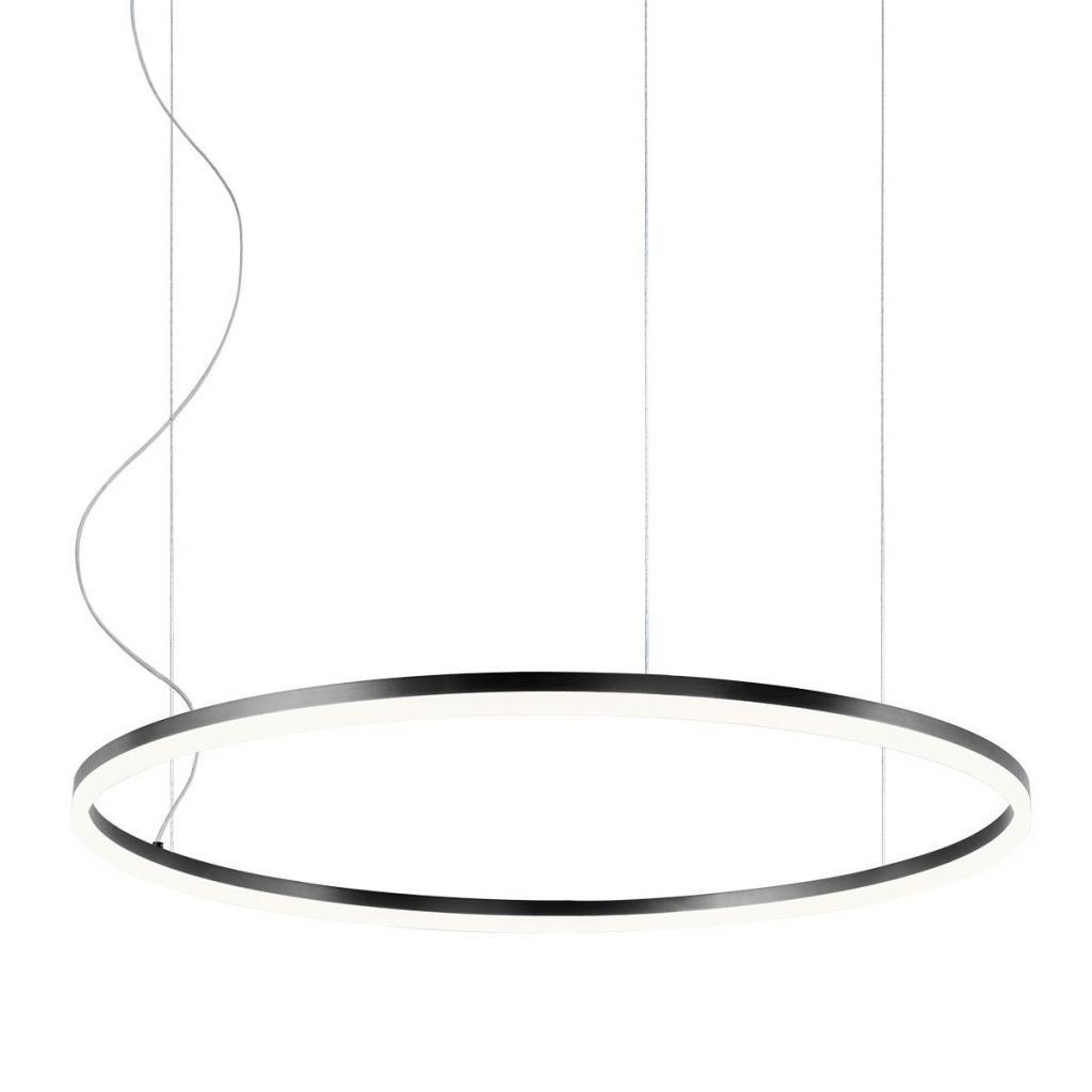 Produktové foto Redo Orbit direct, závěsné kruhové svítidlo, 55W LED 3000K stmívatelné DALI, černá, prům. 80cm