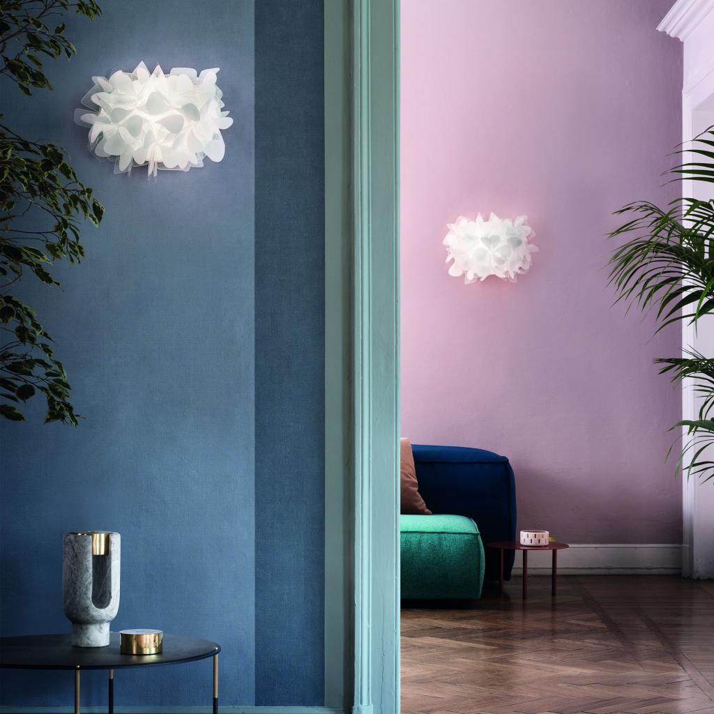 Produktové foto Slamp CLI78APP0000MN_000 Clizia Mama Non Mama, designové nástěnné svítidlo, 2x6W E14, výška 28cm