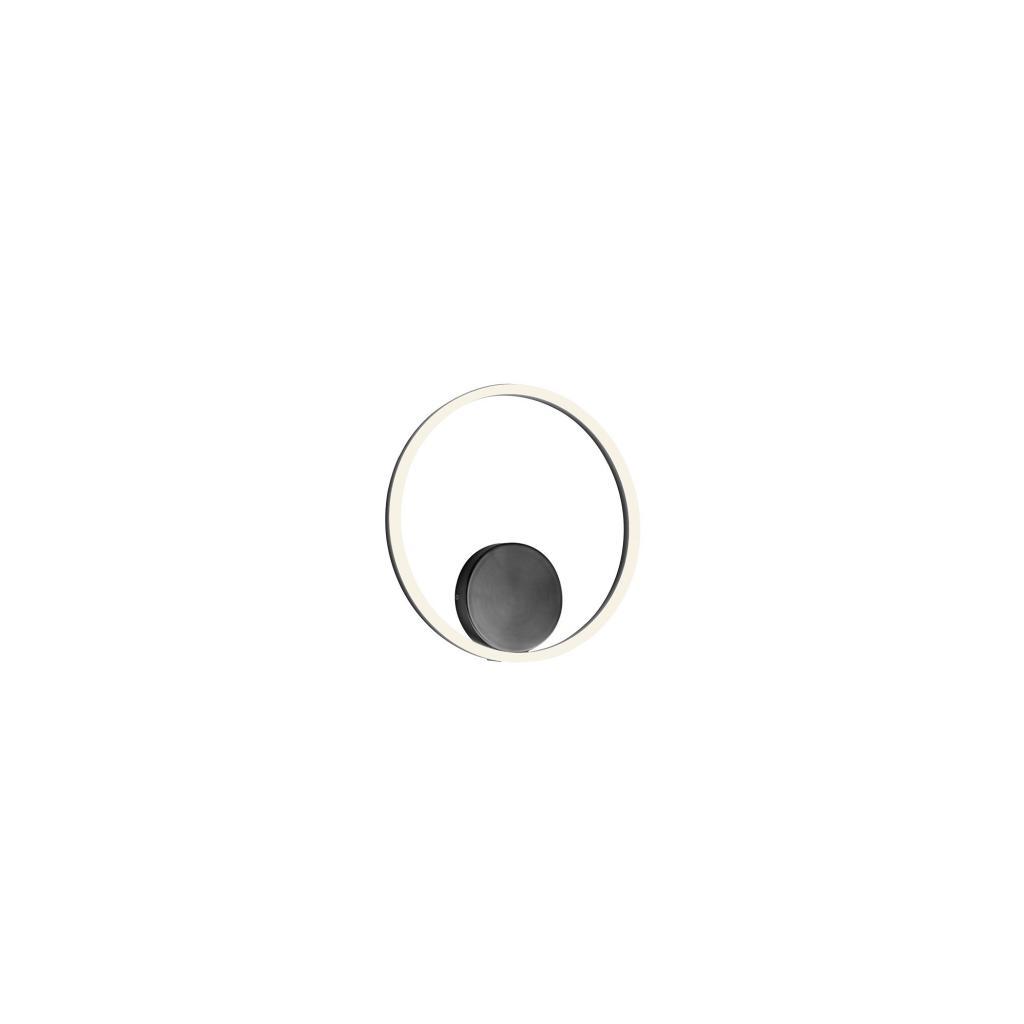 Produktové foto Redo 01-1942-DALI Orbit direct, nástěnné/stropní kruhové svítidlo, 28W LED 3000K stmívatelné DALI, černá, prům. 40cm