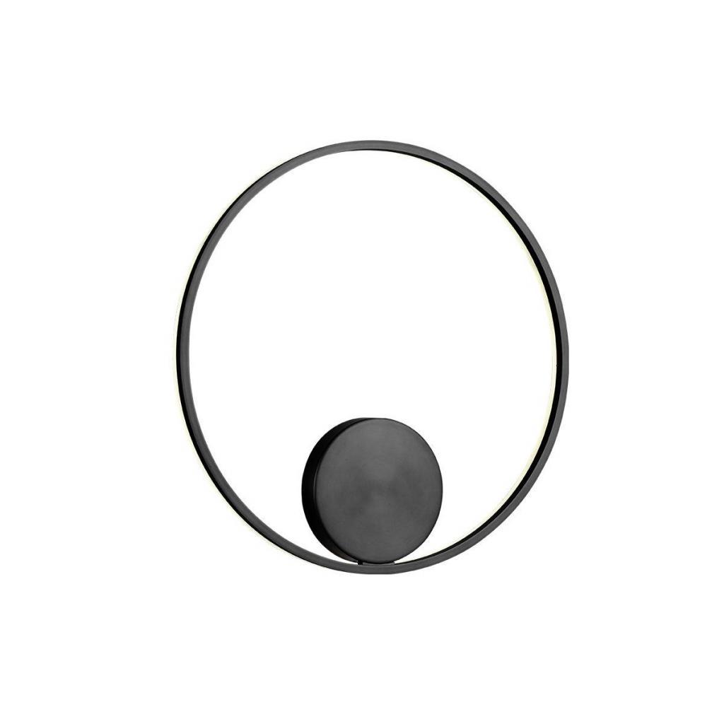 Produktové foto Redo 01-1945-DALI Orbit indirect, nástěnné/stropní kruhové svítidlo, 42W LED 3000K stmívatelné DALI, černá, prům. 60cm