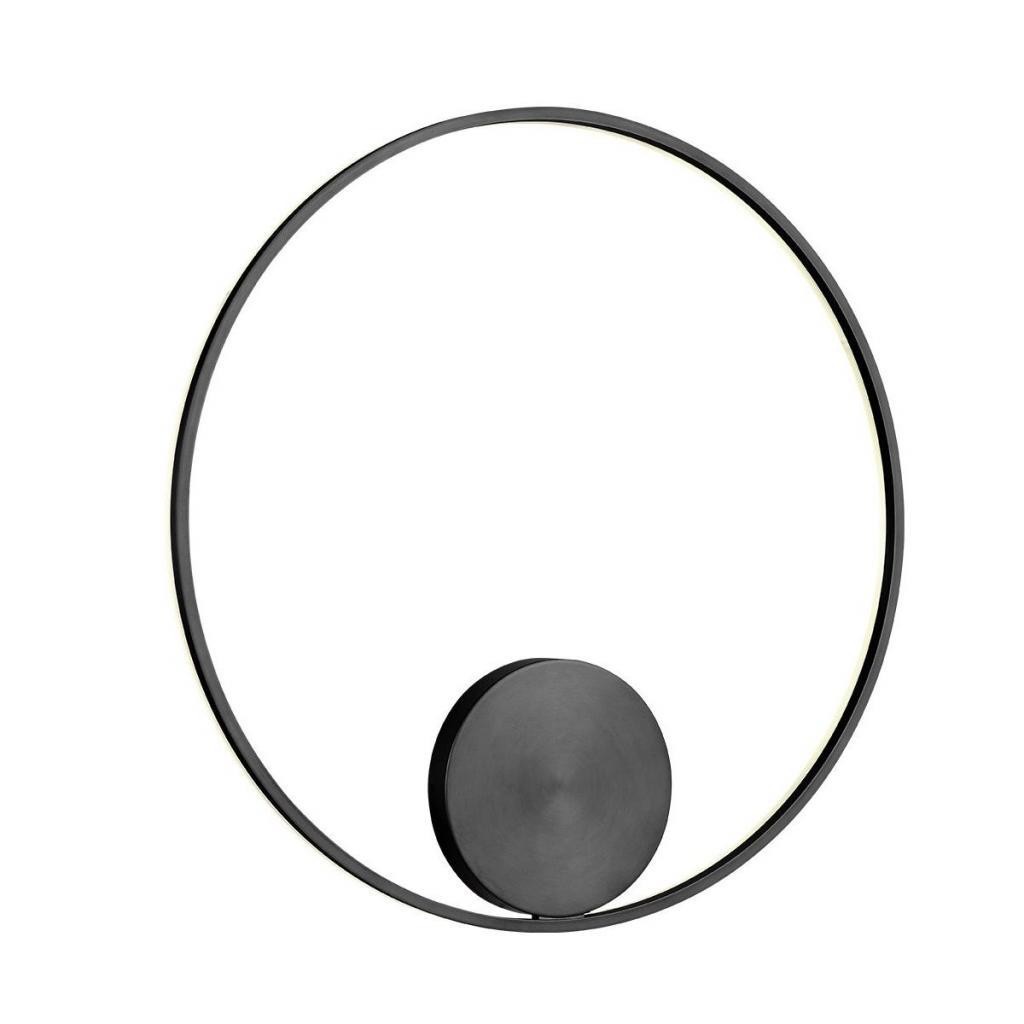 Produktové foto Redo 01-1947-DALI Orbit indirect, nástěnné/stropní kruhové svítidlo, 55W LED 3000K stmívatelné DALI, černá, prům. 80cm
