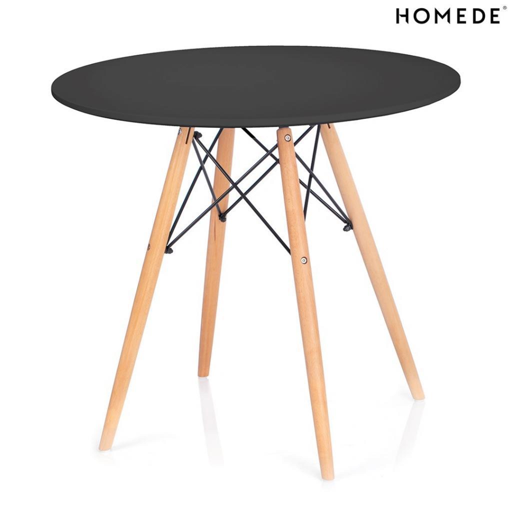 Produktové foto HOMEDE Jídelní stůl Tebe I černý