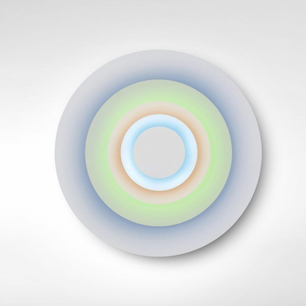 Produktové foto Marset A678-005 Concentric M Minor, nástěnné svítidlo s chladnými barvami, 7,8W LED 2700K stmívatelné, prům. 81,5cm