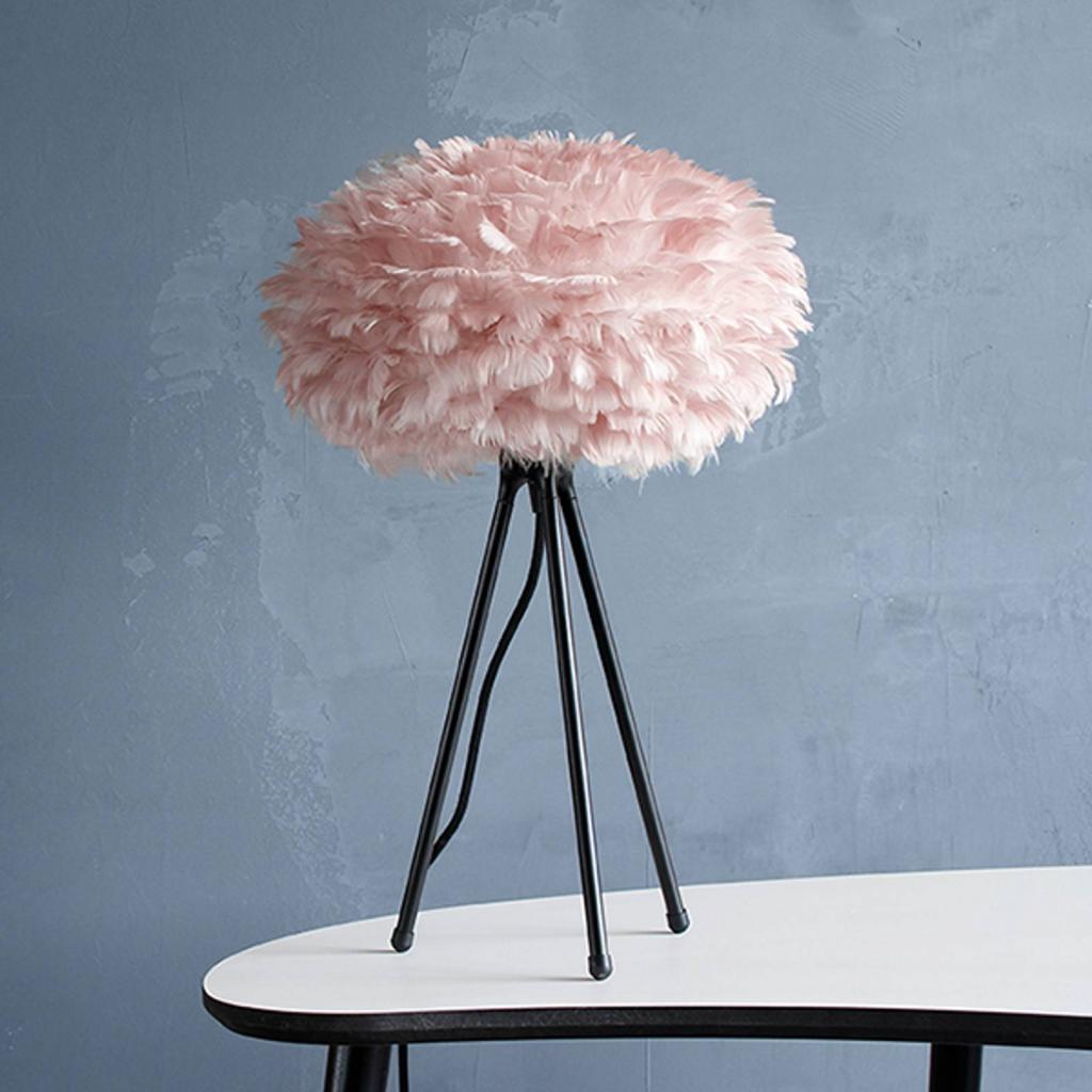 Produktové foto UMAGE UMAGE Eos mini stolní lampa růžová trojnožka černá