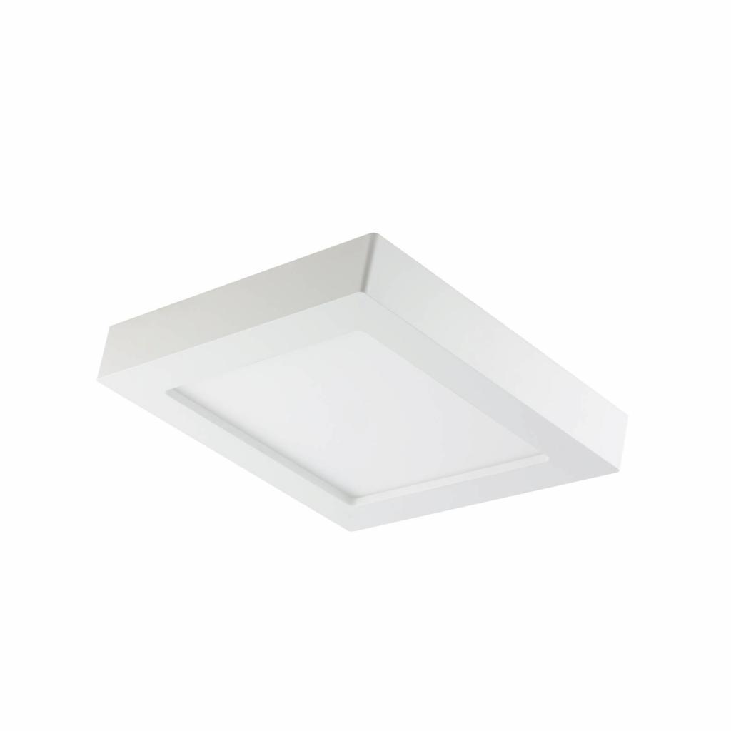 Produktové foto PRIOS Prios Alette LED stropní světlo, bílé, 22,7cm, 18W