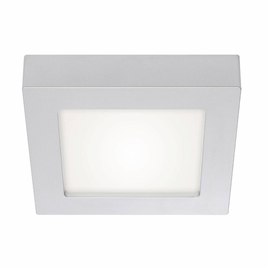 Produktové foto PRIOS Prios Alette stropní světlo stříbrné, 22,7cm 24W