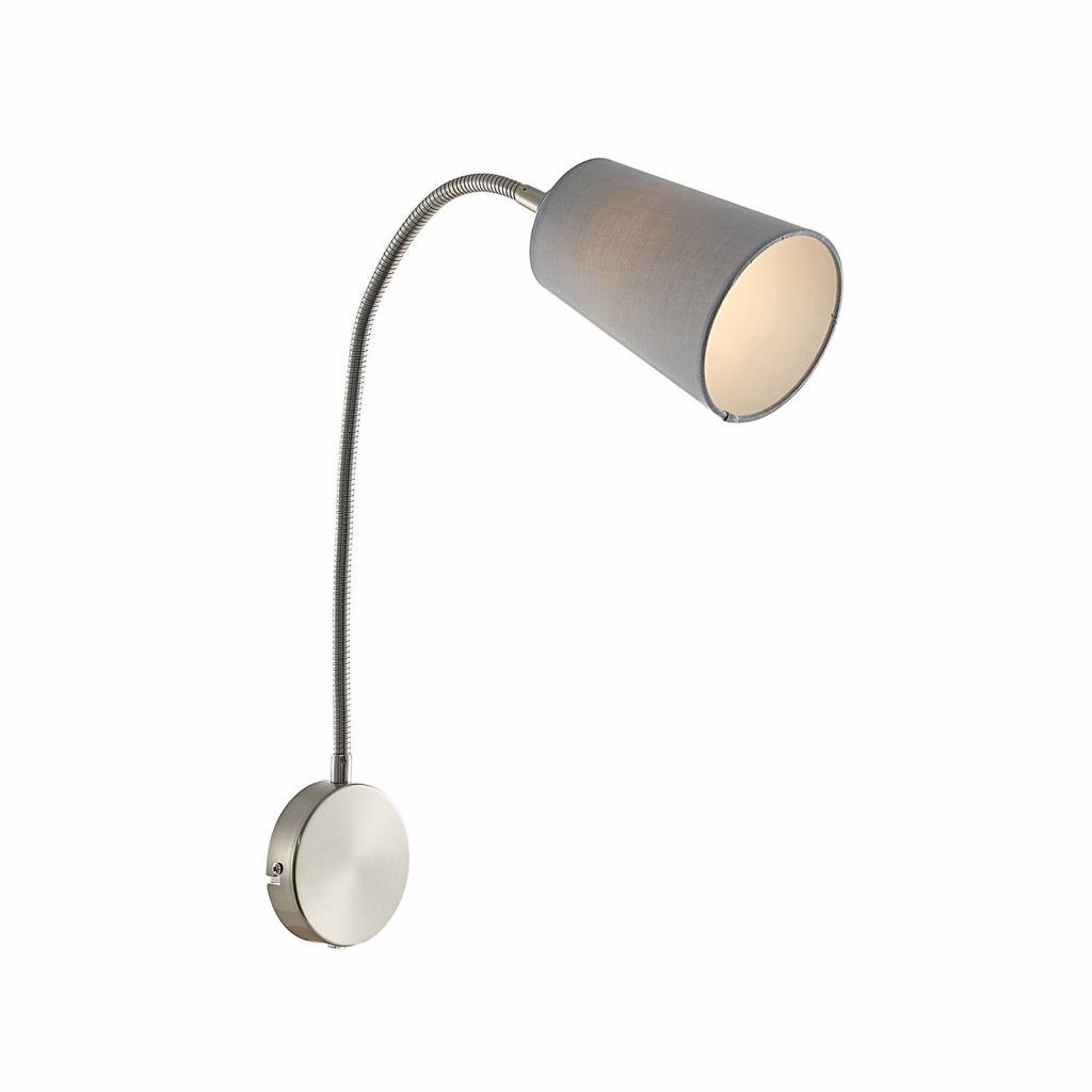Produktové foto Lindby Lindby Kornel nástěnné světlo s látkovým stínidlem