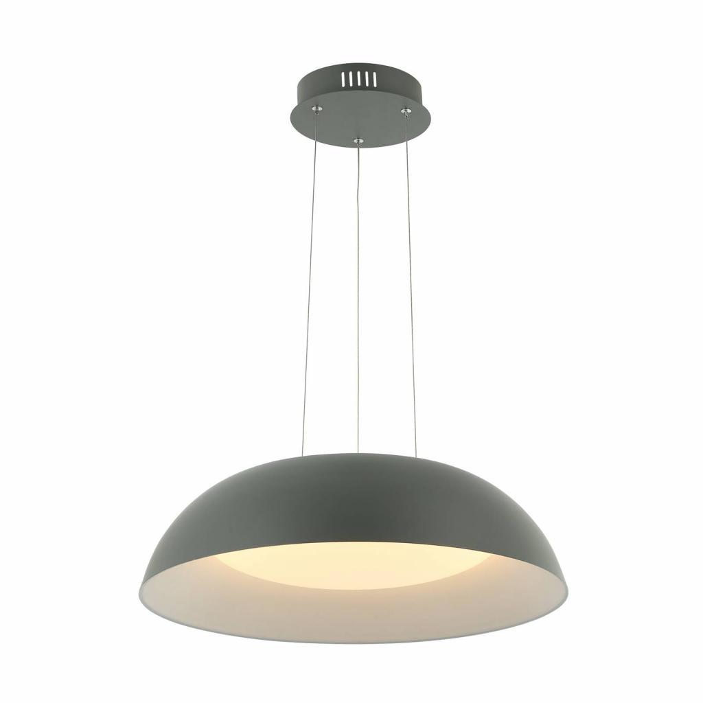 Produktové foto Lindby Lindby Juliven LED závěsné světlo, šedé, 50 cm