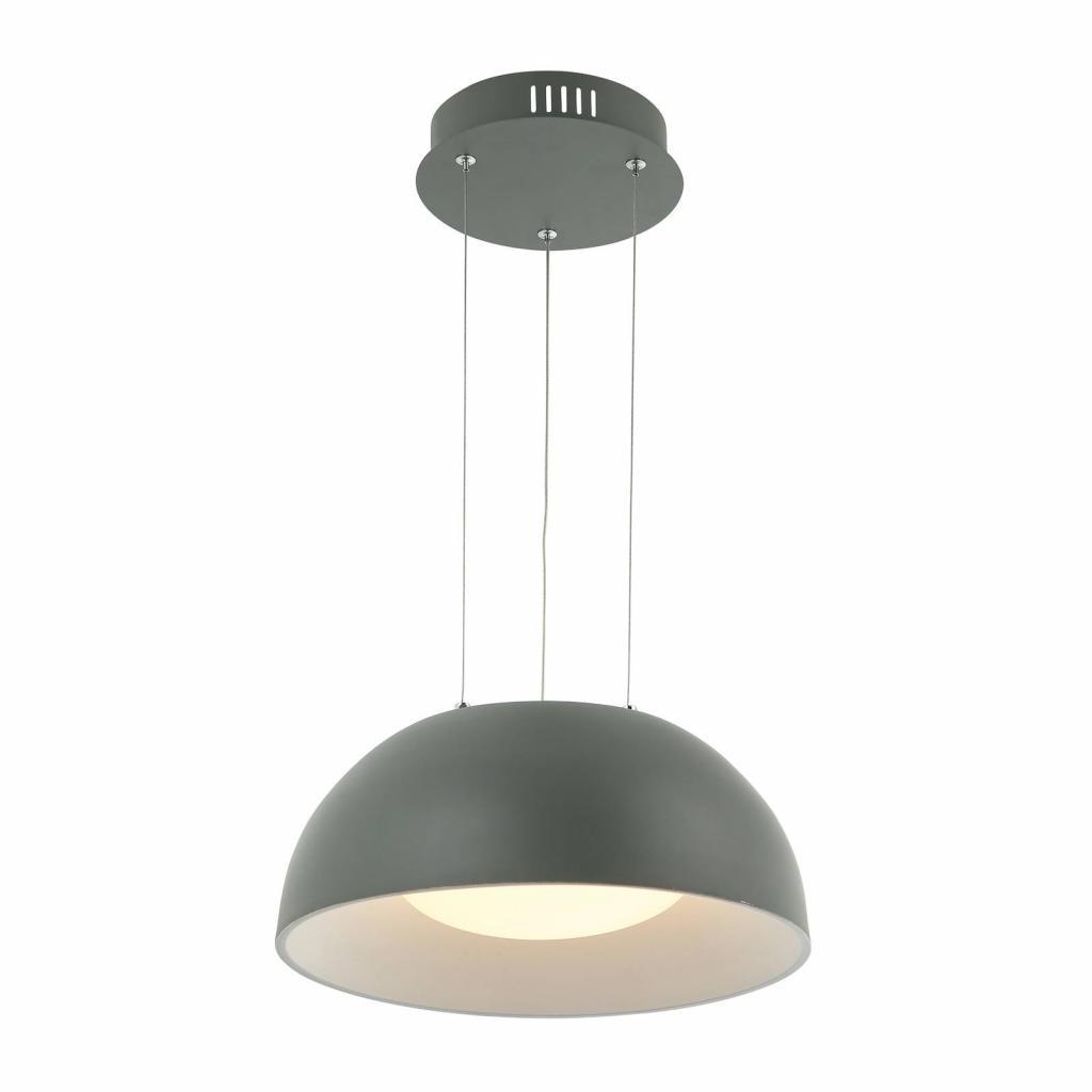 Produktové foto Lindby Lindby Juliven LED závěsné světlo, šedé, 32 cm