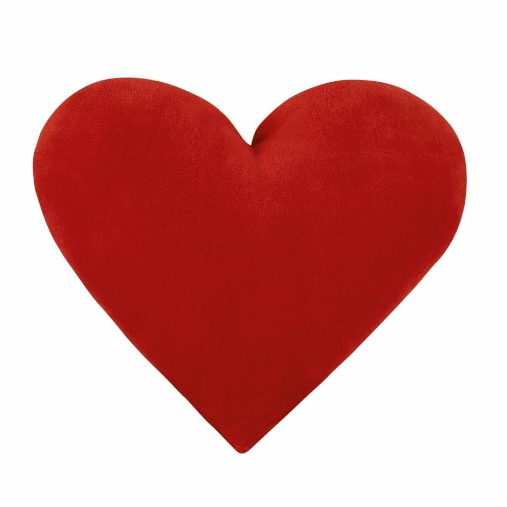 Produktové foto Bellatex Polštářek Srdce červené, 42 x 48 cm