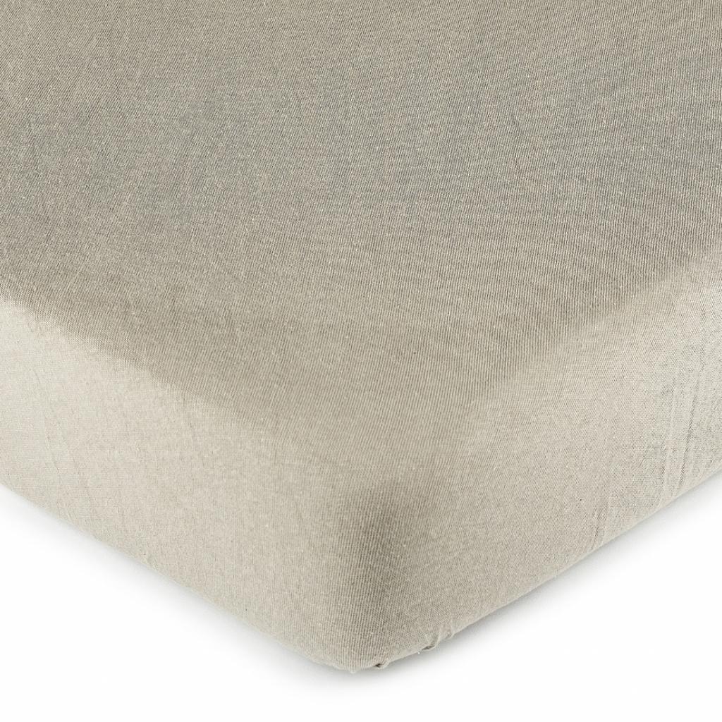 Produktové foto 4Home jersey prostěradlo šedá, 90 x 200 cm