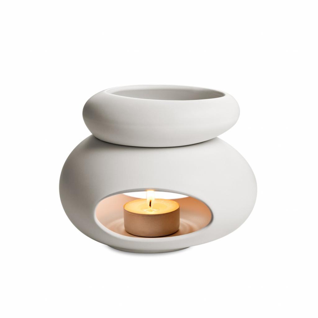 Produktové foto Tescoma Fancy Home 906832 aroma lampa Stones, bílá