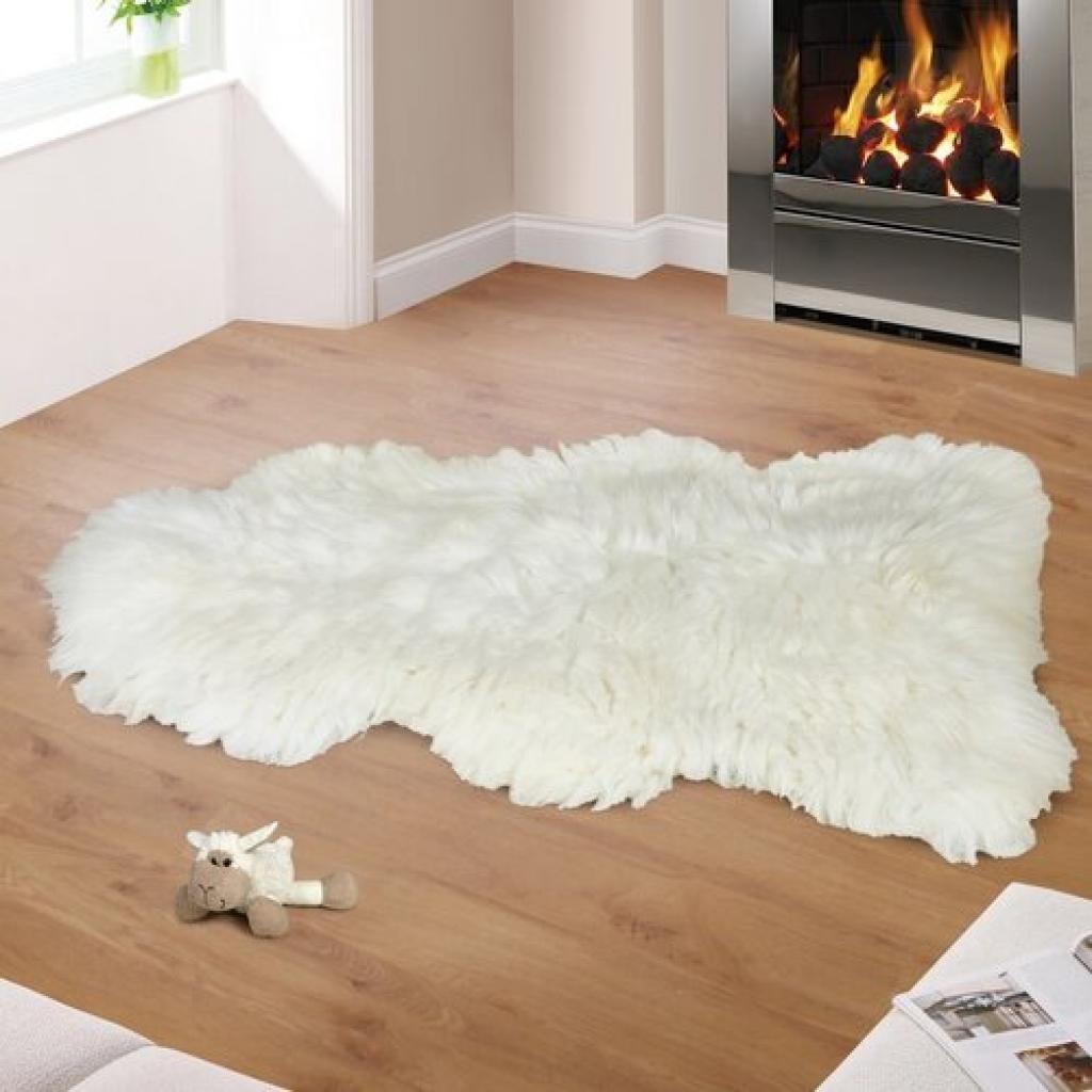 Produktové foto Bellatex Vlněná předložka Kožešina bílá