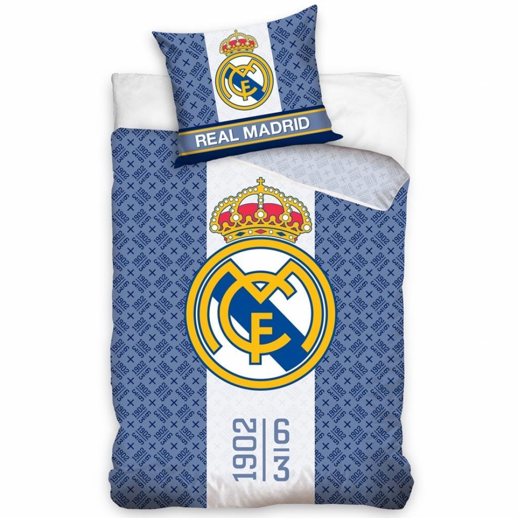 Produktové foto CarboTex Bavlněné povlečení Real Madrid 1902, 140 x 200 cm, 70 x 80 cm